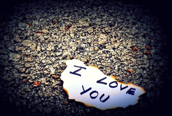 عکس عاشقانه فانتزی آی لاو یو (i love you)