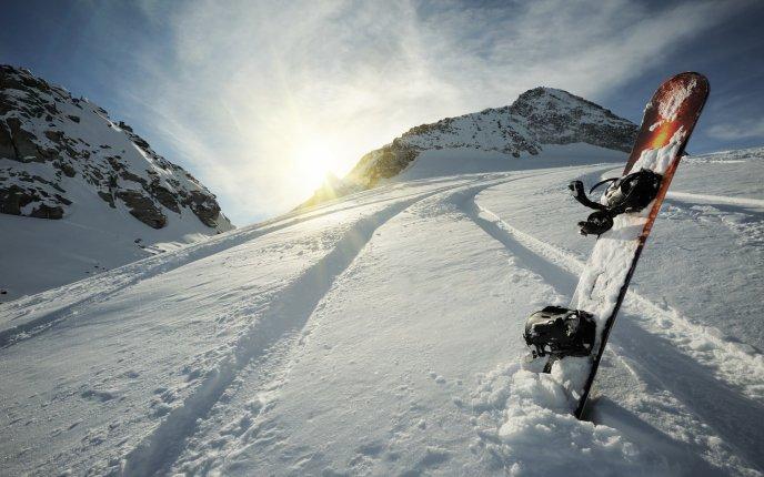 عکس فانتزی رمانتیک زمستان برفی