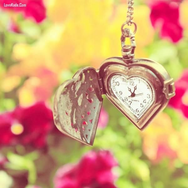 عکس های عاشقانه و رمانتیک ساعت