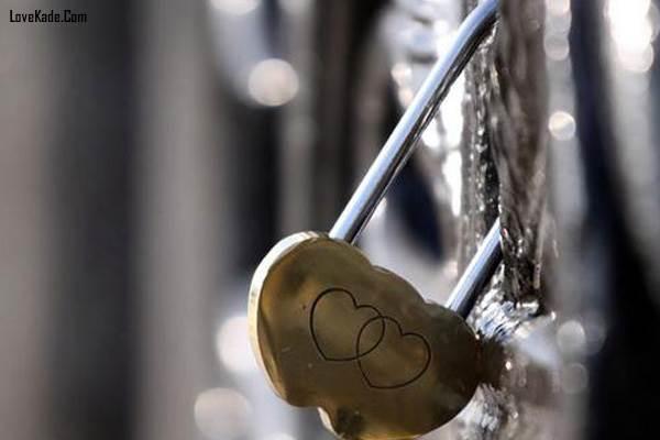 عکس های رمانتیک قفل و کلید